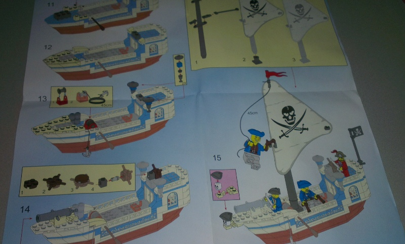Enlighten Pirate Ship Booklet preview